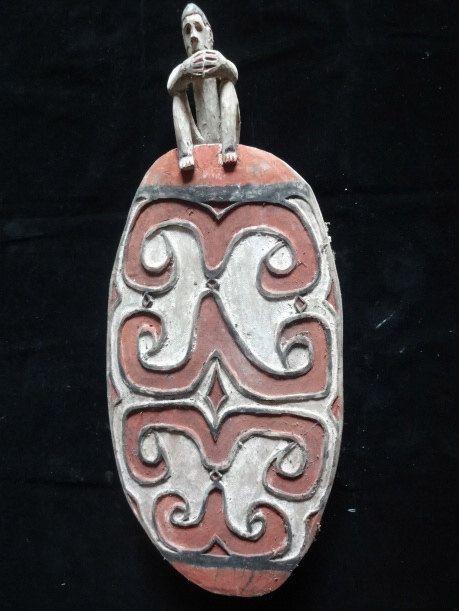 Saga Bowl Tribal Art Asmat Papua New Guinea Wood by ubudexotica