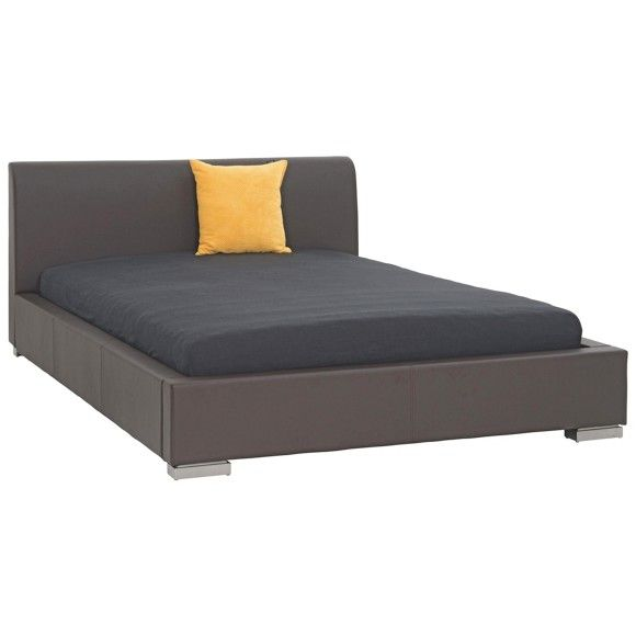 POLSTERBETT in Textil Braun - Betten - Schlafen - Produkte