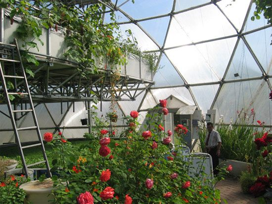 how to build a biodome