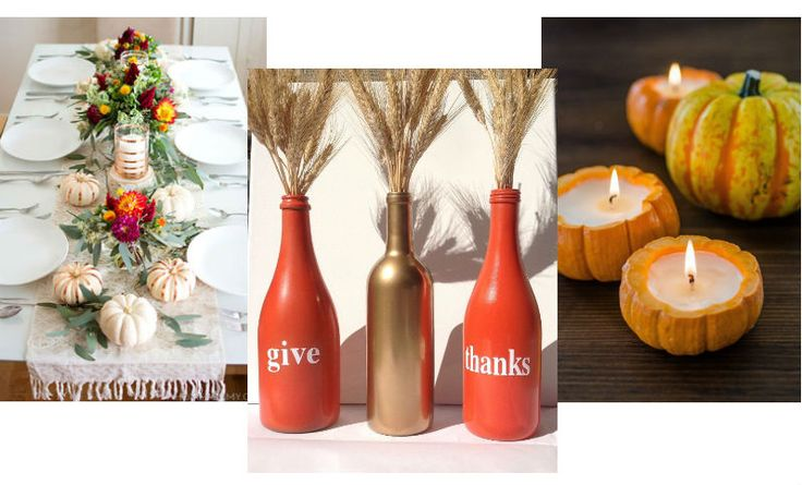 The ultimate #DIY centerpieces for Thanksgiivng