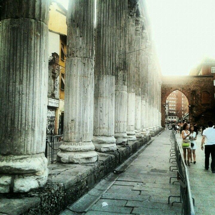 Colonne di San Lorenzo (During the day)