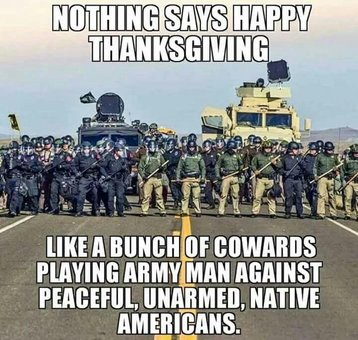 Wtf America?! #NoDAPL #StandwithStandingRock