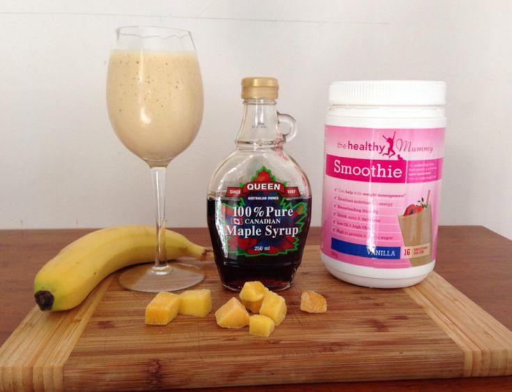 Creamy Maple Mango Smoothie Recipe