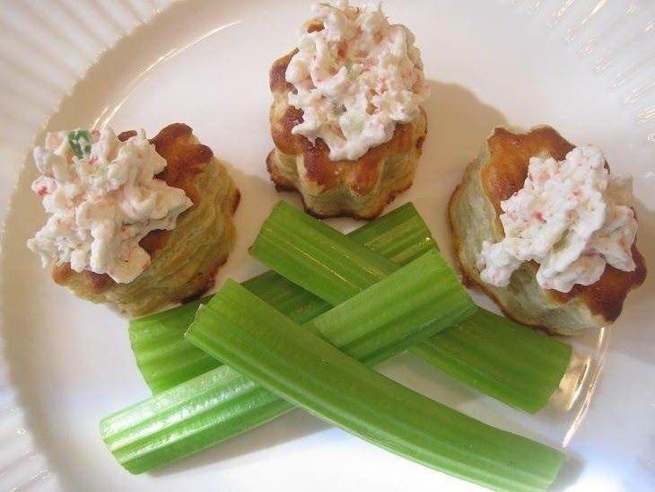 Ingredientes 15 barritas de surimi o imitación cangrejo.  1 chile serrano 1/2 cebolla picada finamente 2 ramas de apio picada finamente 2 cd...
