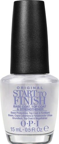 OPI Start to Finish Original - tratament baza si finisare 15ml