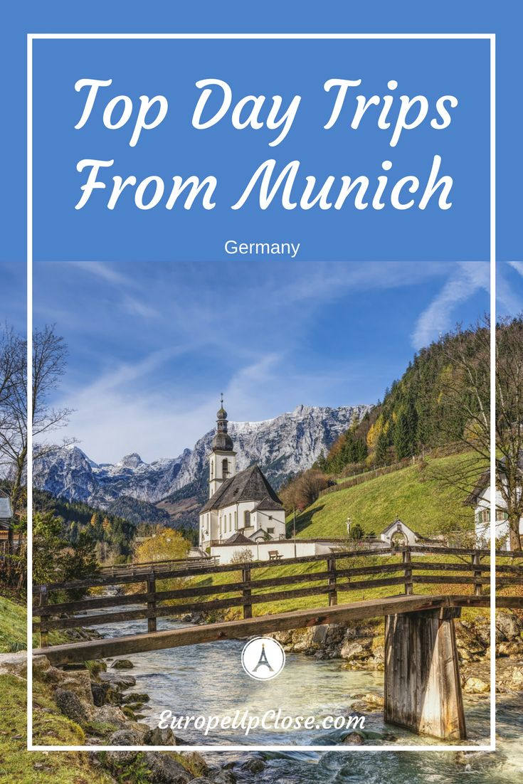 Day Trips from Munich Germany - Best Munich Day Trips #Germany #Munich #Bavaria #traveltips