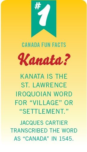 Canada Fun Fact No. 1 #PinUpLive
