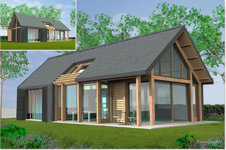 Zoekt u een aannemer voor het ontwerp of de bouw van een schuurwoning - moderne schuurwoning - moderne schuurwoningen? http://www.aannemersbedrijfwielink.nl