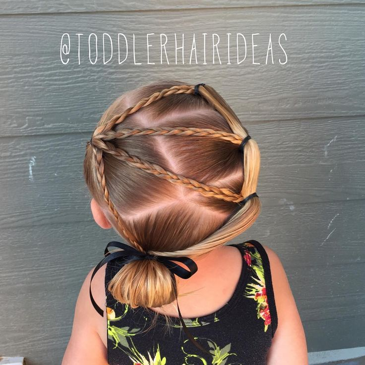 "384 Likes, 15 Comments - Cami  Toddler Hair Ideas (@toddlerhairideas) on Instagram: ""Today I sectioned off a front left pony and made 4 micro braids coming from it. Then I sectioned…"""