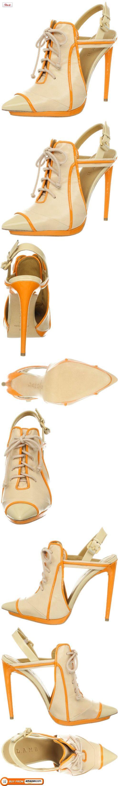 L.A.M.B shirt | Women's Janetta Oxford,Naked/Orange,6 M US, , #Apparel, # ...