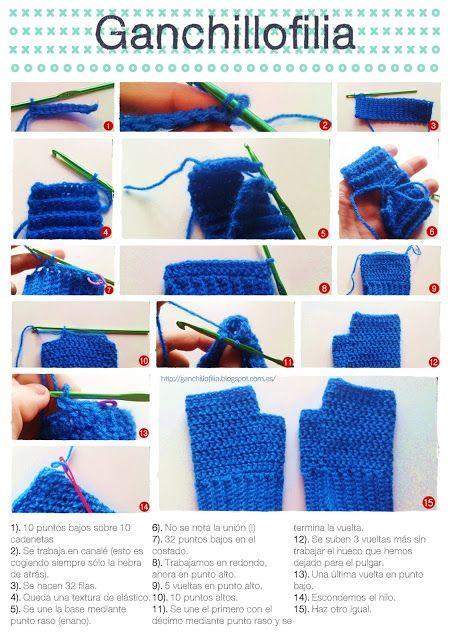 Porque tejer no es cosa de abuelas.: mitones