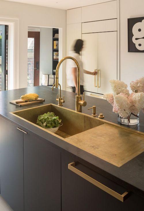 Designing a custom kitchen sink. | kitchens | Kitchen sink ...