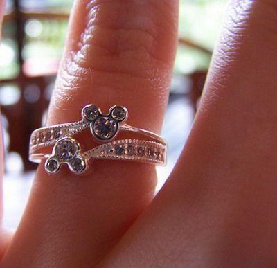 Disney wedding ring - Wedding Inspirations