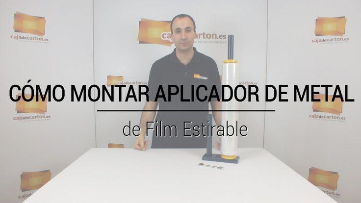 VÍDEO: Cómo montar un Aplicador de Metal de Film Estirable https://www.cajadecarton.es/