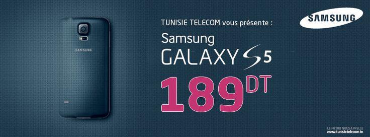 Tunisie Telecom Samsung S5