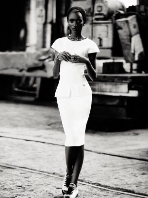 Herieth Paul by Max Abadian for Dress to Kill Winter 2011 by lorena