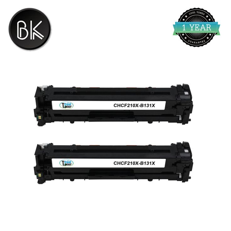2PK Compatible CF210X 131X Black Toner for HP LaserJet Pro M251n M251nw M276nw #CoolToner