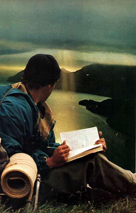 Hiking & writing