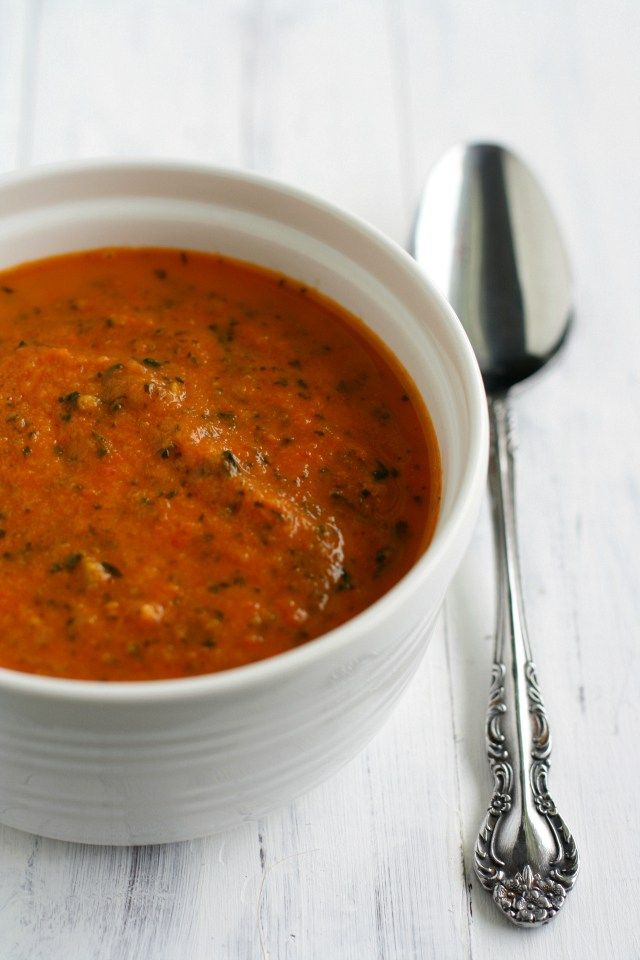 Creamy and delicious tomato florentine soup. This recipe is perfect for chilly winter days!