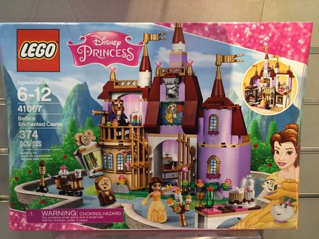 Lego Beauty And The Beast Belle S Enchanted Castle Box