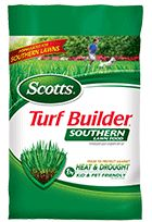 Specially formulated for Southern lawns. Feeds to protect against heat and drought. Kid and pet friendly when used as directed. Recommended for many Southern lawns as part of the Scotts Lawn Care Plan.