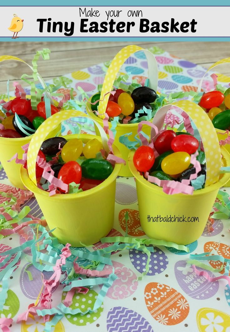 Make Your Own Tiny Easter Basket (from k cups) Craft @thatbaldchick