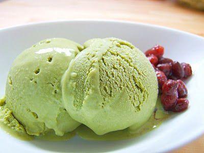 Παγωτό πράσινου τσαγιού