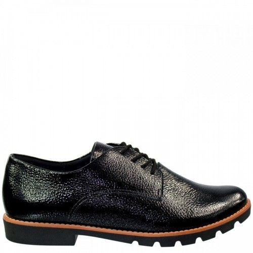Sapato Oxford Usaflex X5705 Feminino Verniz Show