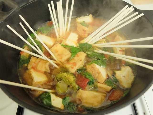 Sopa de Tofu: un plato japonés vegetariano muy sencillo de elaborar.