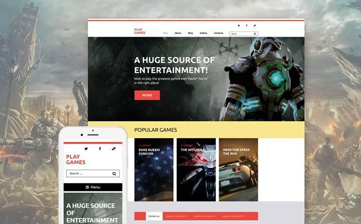 I love it!   Play Games WordPress Theme CLICK HERE! live demo  http://cattemplate.com/template/?go=2dMFD9p