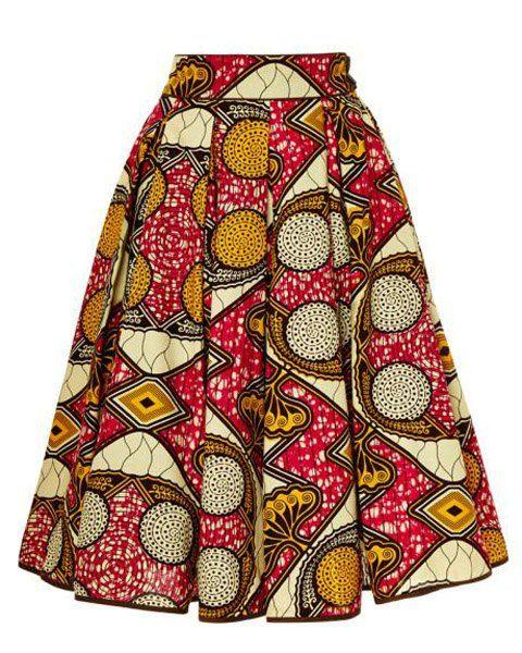 vintage skirt + modern print : all the best