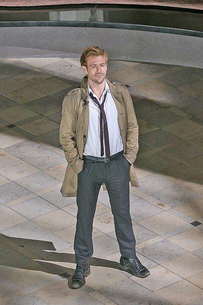 Matt Ryan as Constantine ❤❤❤ #SaveConstantine #BringConstantineBack #IStandWithConstantine and always will #Hellblazers