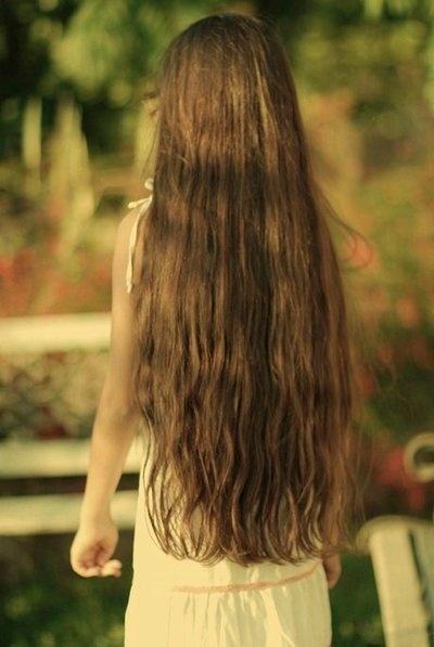 beautiful, natural long hair