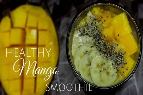 Mango Banana Smoothie is a wholesome, healthy and nourishing recipe loaded with dietary fiber and healthy fats that support weight loss, proper digestion and optimum blood sugar balance. It is a 100% gluten-free and diary-free smoothie that does not contain cow's milk, cream or yogurt which makes it suitable for vegans and people with gluten and lactose intolerance and those with celiac disease.