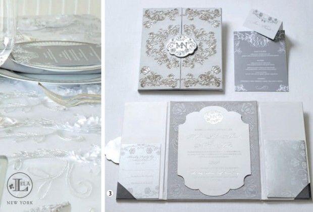 Lela New York : Luxury Wedding Invitations : New York Weddings : Couture Wedding Invitations : Silk Box Invitations and Stationery