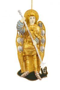 St Michael Archangel Christmas Tree Decoration - FIGURE - Christmas Decorations