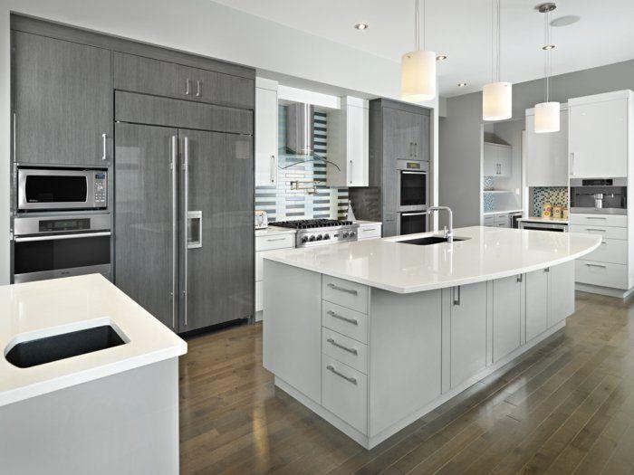 29 best Küchenideen images on Pinterest Live, Kitchen designs - amerikanische küche einrichtung