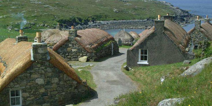 Scottish island holidays in seaview holiday village Hebrides