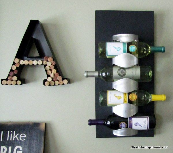 $13 Ikea Wine Rack Easy Hack