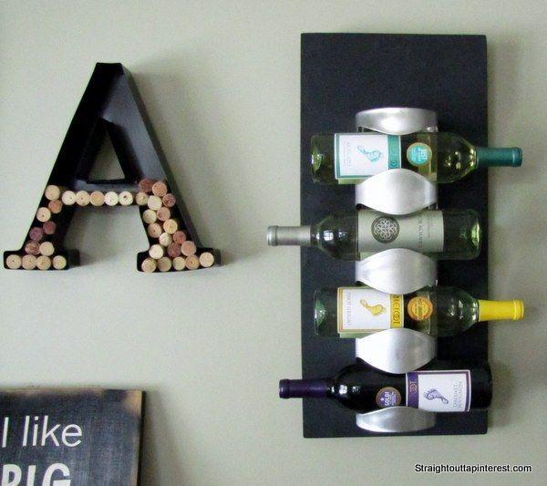 $13 Ikea Wine Rack Easy Hack