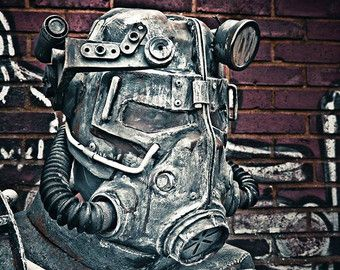Fallout Style T45D Power Armor Costume by MechKotProps on Etsy