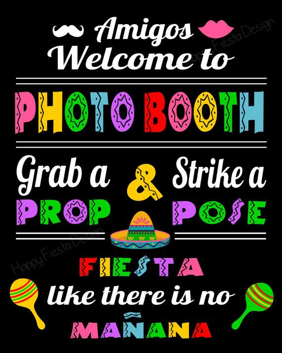 Cinco De Mayo Photo Booth Props42 Pieces 31 by HappyFiestaDesign