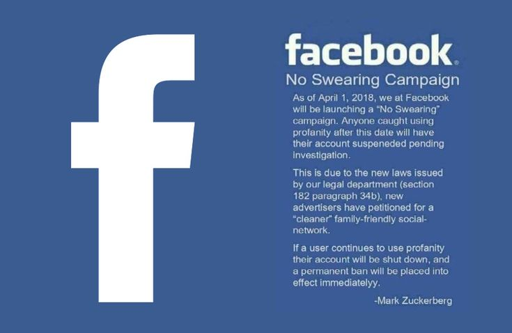 Is Facebook closing your account? Similar to the Facebook Copyright Protection or the Facebook Privacy Notice, the No Swearing Campaign on the biggest social media platform is just a hoax. Here is how it works.