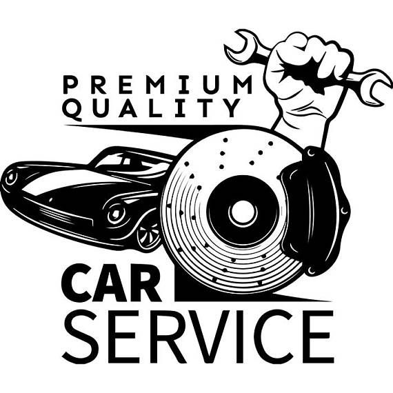 Mechanic Logo #52 Wrench Engine Auto Car Part Biker