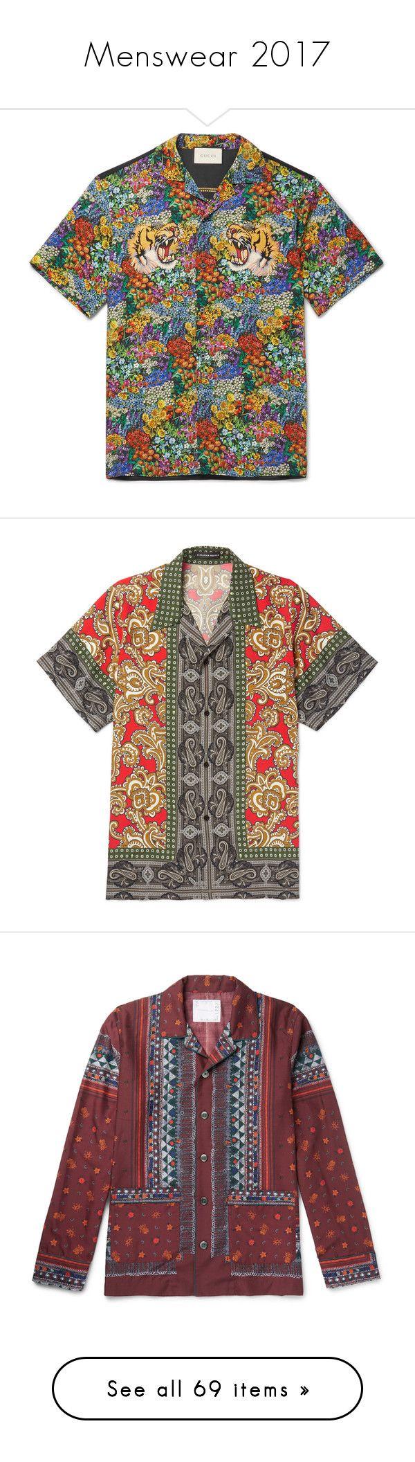 """Menswear 2017"" by jckyleeah ❤ liked on Polyvore featuring menswear, 2017, men's fashion, men's clothing, men's shirts, men's casual shirts, mens retro bowling shirts, men's flower print shirt, mens silk shirts and mens floral shirts"