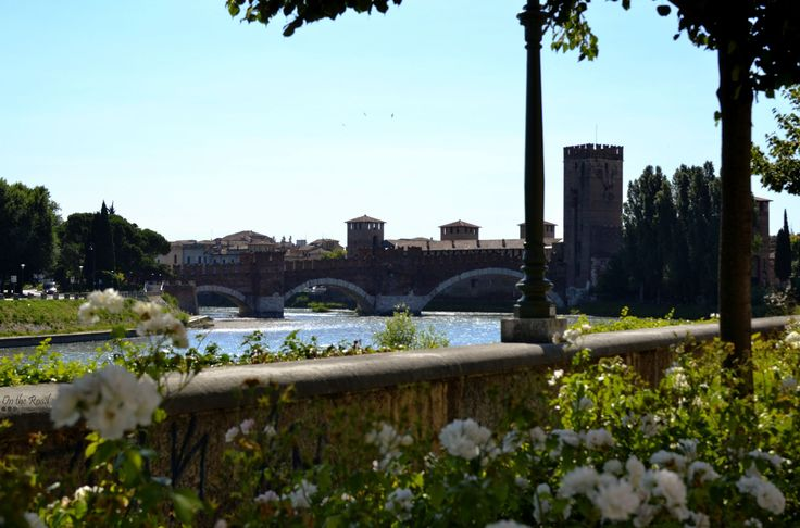 Castelvecchio Bridge in Verona, Italy.
