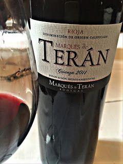 El Alma del Vino.: Bodegas Regalía de Ollauri Marqués de Terán Crianza 2011