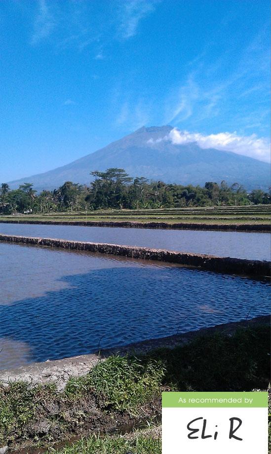 Gunung Sumbing di Temanggung Jawa Tengah - Captured by HTC Desire S