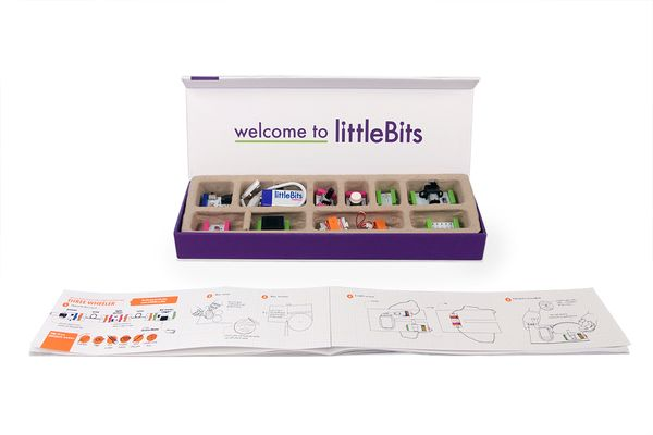 littleBits I SOOOoooo want this - for me and for my son! maybe even for his school!!