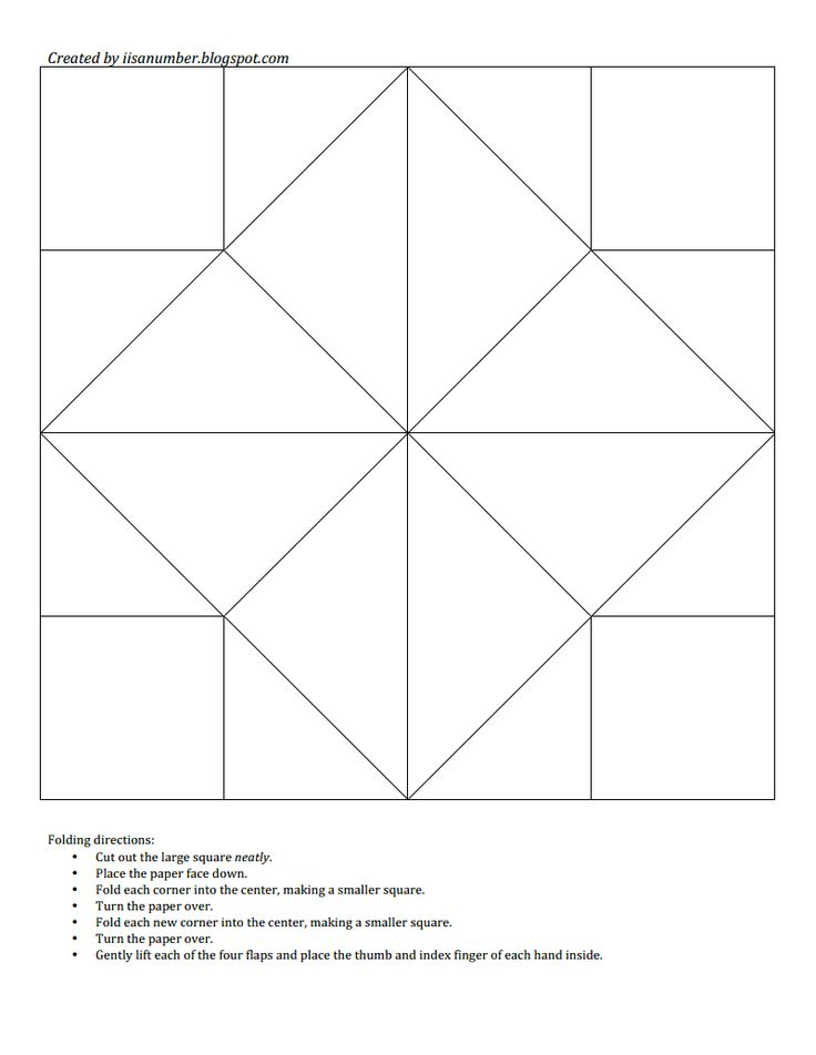 451 best QUILT BLOCKS 1 B W images on Pinterest Quilt blocks - cootie catcher template